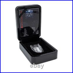 2021 2 oz Pure Silver Black Panther Mask Marvel Icon Coin with COA 2 ounces