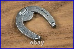 2021 Palau $5 Lucky Horseshoe Shaped 1 oz. 999 Silver Antiqued Coin 2,500 Made