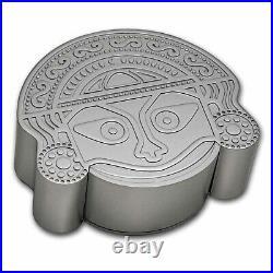 2021 Tuvalu 2 oz Silver Tears of the Moon Antiqued SKU#230688