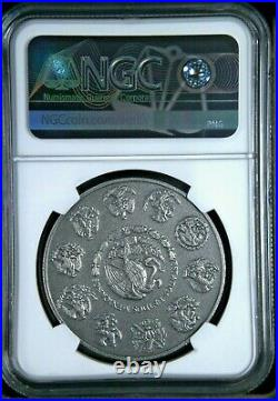 ANTIQUE LIBERTAD MEXICO 2019 1 oz Silver Coin NGC MS 70 EARLY RELEASES ER