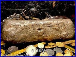 ATOCHA 1622 SILVER BAR 15+lbs MEL FISHER PIRATE GOLD SHIPWRECK COINS TREASURE