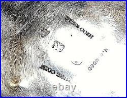 Antique BAILEY & CO 1852-55 PURE COIN SILVER CUP EAGLE/U/SHIELD MARK REPOUSSE