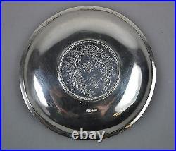 Antique Chinese Dollar Export Silver Yuan Shih Kai Coin Plate China Luen Wo 1914