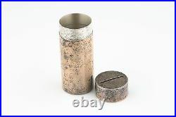 Authentic Tiffany & Co Makers Sterling Silver Coin Holder Bank 61.9g Model 23929