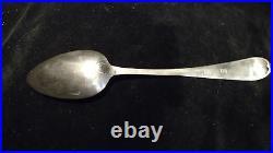 Joseph Richardson Jr. Coin Silver Table Spoon 18th Century Philadelphia