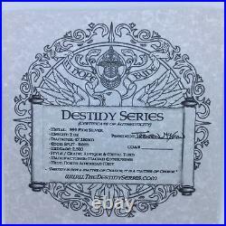 Limited 2 oz Antique Destiny Coin Series Knights Templar Camelot Lancelot with COA