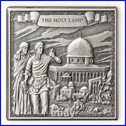 Marco Polo's Travels 1 kilo Antique finish Silver Coin 10 Pounds Gibraltar 2021