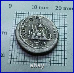 Rare! Antique Coin SILVER Septimius Severus ROMAN DENARIUS AD 193-211 # 0122