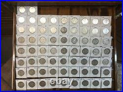 Rare Antique, Vintage Huge coin collection Lot with cabinet over 1650 coins. WOW