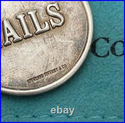Silver Tiffany & Co. Sterling Coin Rare W A+ Patina Collectible