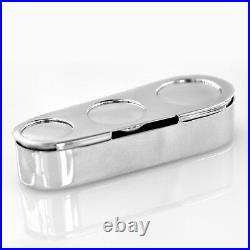 TIFFANY & Co. MAKERS Sterling Silver Coin Holder Magnetic Base Estate Jewelry