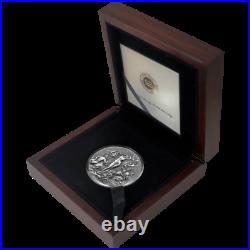The Birth of Venus Celestial Beauty 2oz Antique finish Silver Coin Cameroon 2021
