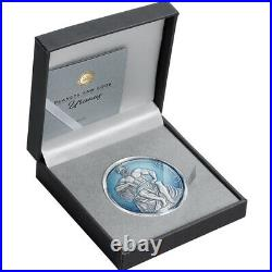 Uranus Planets and Gods 3 oz Antique finish Silver Coin CFA Cameroon 2020