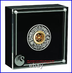 Voyage of Discovery Endeavour 1770-2020 2oz Silver Antiqued Coin NGC MS 70 FR
