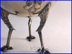Wonderful Chicken Leg by Gorham Coin Silver Creamer